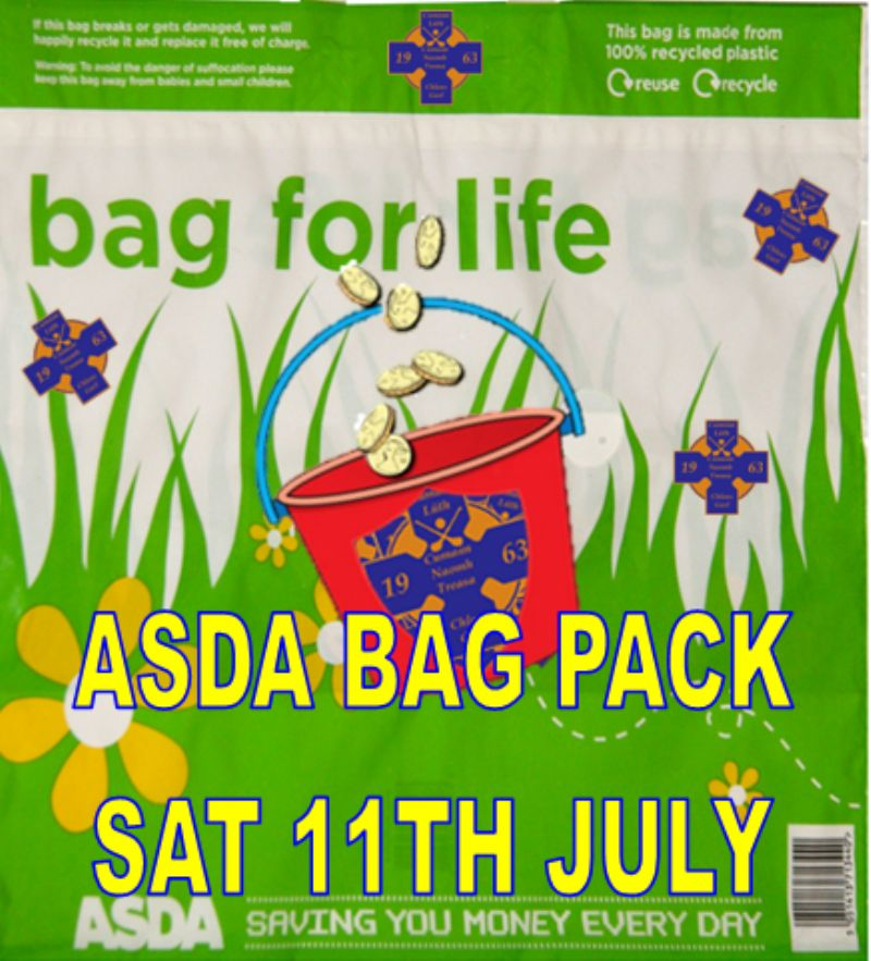 ASDA BAG PACK - SATURDAY 11TH JULY