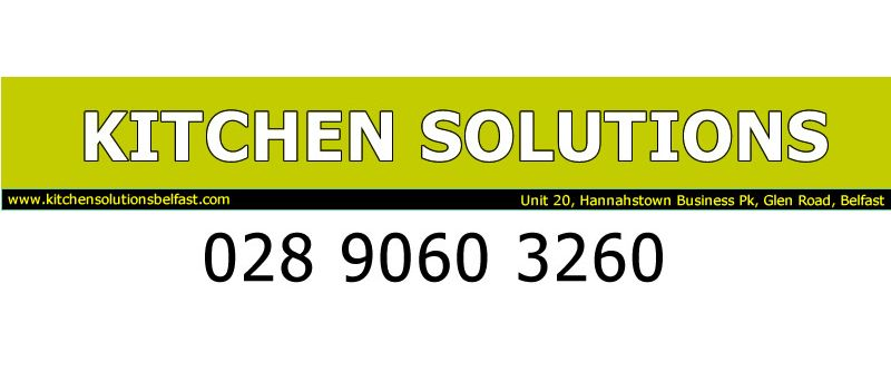 Main Club Sponsor - Kitchen Solutions - www.kitchensolutionsbelfast.com
